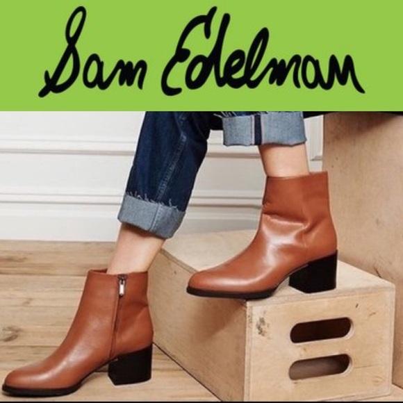 c82f97291e149 Sam Edelman Joey Saddle Booties Size 10